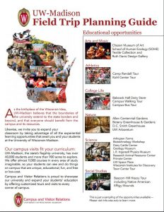 Front cover of Field Trip Planning Guide