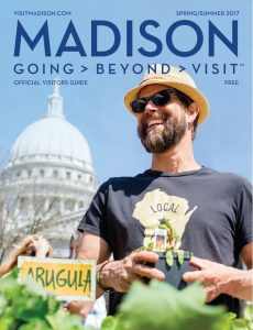 Front Cover of Madison Official Visitors Guide