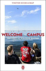 Front cover of Visitor Guide & Map