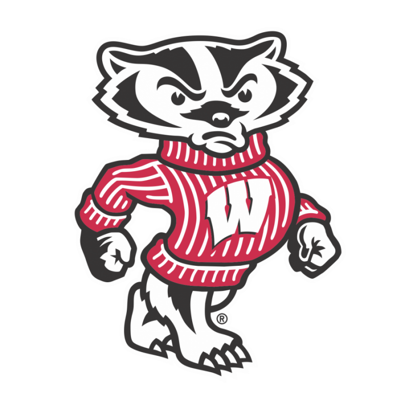 Bucky Badger graphic