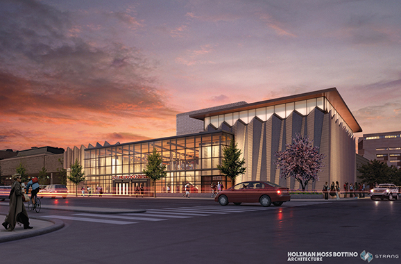 Rendering of the Hamel Music Center
